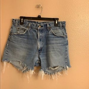 Vintage Cutoff Levi's Shorts